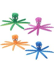 Favor Pet plush toys octopus skin shell dog puzzle bite-resistant vocal toy supplies for cats and dogs