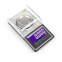 0.001g Precision Digital Milligram 20g 30g 50g Mini Electronic USB Weight Balance Touch Screen Gold Jewelry Carat Scale