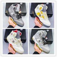 Jumpman 5s Basketbol Ayakkabı 5 Travis Hava Sporları Ayakkabı 4 S Gölge US13 Erkekler Retro Hyper Kraliyet Üniversitesi Mavi Obsidiyen UNC Parçalı Backboard 3.0 US5.5-US13 EUR36-47