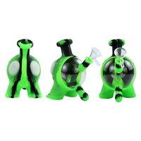 unique design hookah unbreakable waterbongpipe glass bongs oilrig tobacco bubbler