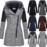 Autumn Winter Products Fashion Women Warm Slim Jacket Thick Overcoat Outwear Hooded Zipper Coat Women's Jackets
