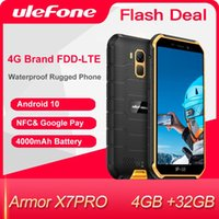 Ulefone Armor X7 Pro Red Smartphone 4GB RAM Android 10 CellPhone IP68 Quad-core NFC 4G Mobile Phone Waterproof