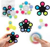 DecomPression Spinner Fidget Toy Prime Toys Spinning Top Sus POP SERVICIO GIRSOSCOPO SILICONO PUSH PUSH BUBLE MUSIC BUENA