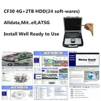 Hot Selling All data auto repair Soft-ware Alldata 10.53 m.t.l 2015 ATSG 2017 24 in 2TB HDD install well on computer For toughbook cf30 laptop 4g