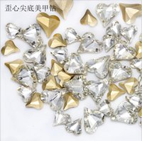 Stickers Decals Salon Health & Beautyabout 30Pcs Mix Shape Crystal Ab Glass Pointback Rhinestone Charms For Diy 3D Nail Art Manicure Decor G