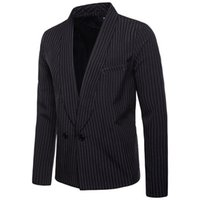 Men's Suits & Blazers Mens Fashion Brand Blazer British's Style Casual Slim Fit Suit Jacket Male Men Coat Terno Masculino Plus Size XXL
