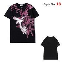 2021 мужские футболки летнее высокое качество камуфляж повседневные подростки мода печати Teers мужские топы классические с коротким рукавом XS-3XL