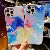 Top Design Graffiti Fashion Phone Custodie per iPhone 13 Pro Max 12 12Pro 12Promax 11 12mini XS XS XSMax XR Custodia in pelle Samsung S20 S20P S20U Nota 10 10P 20U Cover con scatola