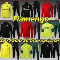20 21 Flamengo Futebol Jerseys Flamengo Tracksuits de Arrascaeta Gabriel B. Diego Homens Treinamento Polo Kits Jackets Camisola Futever Unifrom