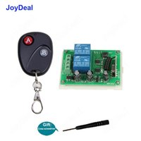 Smart Home Control 433mhz Universal Wireless RF Remote Switch DC 12V 2CH Motor Learning Code Led Light Door Electronic Lock
