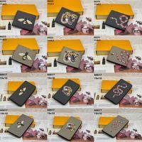 Bolsas de Carteiras Femininas Saco Zipper Feminino Carteira Bolsa Cartão De Moda Titular Bolso Longo Mulheres sacolas com caixa Dustbags22
