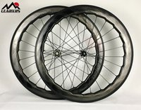 عجلات الدراجة Leadxus الكامل T700 ألياف الكربون 700C قرص الفرامل العجلات 58 ملليمتر 791-792 محاور الحافات القرص الطريق عجلة الطريق
