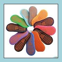 Other Textile Textiles & Gardensocks Trampoline Socks Point Glue Non-Slip Floor Cotton Children Early Education Kids Adt Home Yoga Sock Gwb2