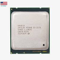 Быстрая доставка Intel Xeon E5 2670 SR0KX C2 Процессор 2,6 ГГц 20M Cache 8.00 GT / S LGA 2011 CPU в США