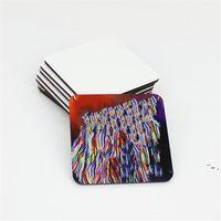 10 * 10 cm Süblimasyon Coaster Ahşap Boş Masa Paspaslar MDF Isı Yalıtım Termal Transfer Fincan Pedleri DIY Lover BWD6025