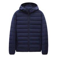 Luxury menswear Designer down jacket Men's fashion 2021 light hooded men's wear youth casual clothesBrand cotton clothing