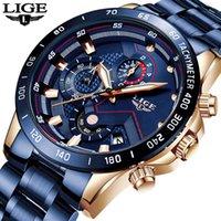 Designer relógio marca relógios de luxo com aço inoxidável top esportes cronógrafo de quartzo homens relogio masculino
