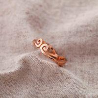 ring day South Qingdao Korea Fashion Jewelry 14K Gold love you 500 years charm lovers women's box
