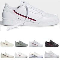 Mens PowerPhase Calabasas Continental 80 Sapatos Casuais Rascal Couro Cinza OG Core Black Triple Branco Homens Mulheres Moda Shoes 36-45