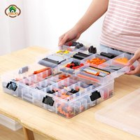 Storage Boxes & Bins Msjo Organizer For Toy Container Plastic Tool Box Large Capacity Hand Kids Case Jewelry Diamond Embroidery