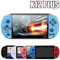 Video Game Console Player X12 Plus Portable Handheld PSP Retro Dual Rocker Joystick 7 Inch Screen