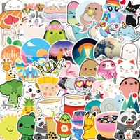 50 Non Infringing Cartoon Animal Stickers Cute Mobile Phone Water Cup Notebook Luggage Waterproof Graffiti Sticker Bag Q8L7723