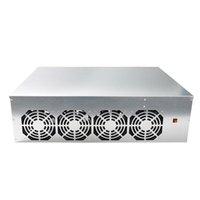 BTC-D37 GPU Ethereum BTC Madencilik Anakart Çerçeve Combo ile 128 GB MSATA SSD 4 Fanlar E65C Dizüstü Soğutma Pedleri