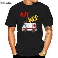 Men's T-Shirts Wee Woo Ambulance Amr Funny Ems Emt Paramedic Gift Tee T-Shirt