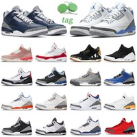 air jordan retro 3 6 8 Chaussures de basket-ball hommes 3s 6s 8s jumpman 3 Cool Grey 6 8 formateurs d'athlétisme en plein air baskets de sport pour hommes