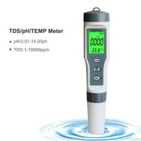 Pool & Accessories 3 In 1 Water Quality Test Pen High Precision TDS PH TEMP 0-14 PH Measurement Range For Swimming Home Detection M88