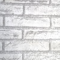 Brick Stone Wall Paper Chinese Rustic Vintage 3D PVC Exfoliator Embossed Washable WallPaper Livingroom Backdrop 100X45cm Wallpapers