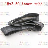 Motorcycle Wheels & Tires Inner Tube 18 X 2.50 With A Bent Angle Valve Stem Fit Many Gas Electric Scooters And E-Bike 18x2.5