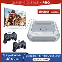 Portable Game Players Consoles For PS1 PSP Support Wireless ControllersBuilt-in 50000+ Games Mini 4K TV -compatible Video Console