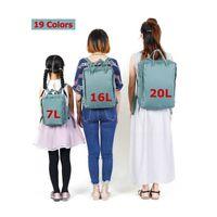 Top-Verkäufer 19colors Outdoor Sports Teenager Rucksäcke Taschen für Mädchen Frauen Unisex Rucksack Reisetasche Große Kapazität Taschen