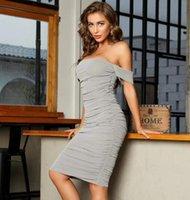 elbise swtao kadın gri sıkı omuz, seksi, tasarımcı, zarif, moda, gece elbisesi, 2021 23r8
