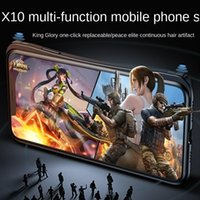 Game Controllers & Joysticks X10 One Key Continuous Distribution Of Pressure Gun Magic Device Android Bluetooth Mobile Phone Case