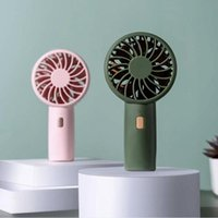 Electric Fans Handheld Mini Air Cooler Portable Fan USB Charging Small Personal Cooling Tools For Home Office Outdoor Travel Summer Dropship