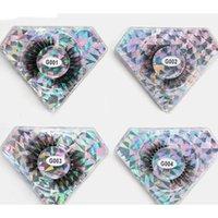 False Eyelashes Lash Packaging Luxury Natural Soft 5D Fluffy Faux Mink