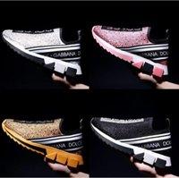 Designers chaussures de luxe multicolore Rhyton Mens femmes Cuir chaussures décontractées Confort Jours de vie pour hommes Daily Lifestyle Skateboarding Suisse noir avec boîte