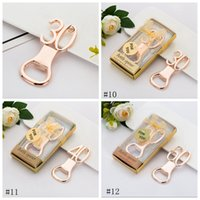 Digital Bottle Opener Alloy Beer Corkscrew Fashion Crown Shape Beer Bottle Openers With Diamond Wedding Party Gift 12styles LLD8680