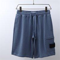 Ctopstoney konng gonng moda de alta qualidade verão algodão terry shorts europeu e americano hip hop rua estilo