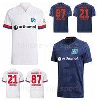 21-22 هامبرغر SV لكرة القدم جيرسيز 9 تروددي 10 كيتيل 14 مطاردة 19 وينتهايمر 8 دودزيك 18 Jatta Kinsombi 7 Narey Football Shirt Kits