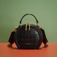 Portable Small Round Messenger Casual Bag Trend New Shoulder Fashion Female Large Capacity 2021 Aooxx