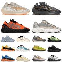 yeezys yeezy boost 700 380 v2 v3 Cream Sport Scarpe da corsa Azael Alvah TAGLIA 12 Uomo Donna Arancione Blu brillante Avena Yecoraite Runner Scarpe da ginnastica Sneakers