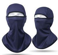 Açık Bisiklet Yüz Maskesi Balaclava Kap Bisiklet Maskeleri Yürüyüş Rüzgar Geçirmez Toz Geçirmez Sürme Şapka Kapaklar CS Kafa Eşarp Türban Buz Soğutma Bandana Nefes