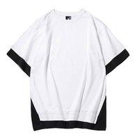 T-shirt Silk Screen XS-3XL Summer Premium 100% uomo manica corta da uomo in cotone stampa personalizzata