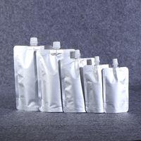 DOIPACK 150ml 250ml 350ml 500ml 500 ml di alluminio flacone alluminio Stand up beccuccio Borsa liquida Borsa per bevande PACCHETTO SQUEZE BRUCK BARCK BATTUCE PUCCH 756 B3