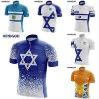 Гоночные куртки Хирбгод 2021 Велоспорт Джерси для Израиль Национальный эмблема дизайн Летние Мужчины Велосипед Одежда быстрая сухая Ciclismo Топ-рубашка, Tyz776-01