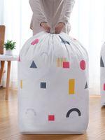 Bolsa de lavanderia Bloqueio de trava de cordão Bolsas grandes caberá uma cesta ou hamper forte o suficiente para realizar o armazenamento de roupas