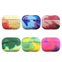 Watercolor Wirless Earphone Protective Case For Airpods Pro Ink Painting PC Hard Shell Air Pods 2 Bluetooth Headphones Cover Sleeve Accessories